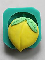 moldes de silicone pêssego chocolate, moldes de bolo, moldes de sabão, ferramentas de decoração bakeware