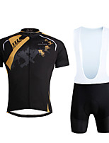 Cycyling PaladinSport Men Shirt + Straps Shorts Suit BKT645 Vitality