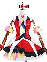 Inspiriert von Macross Grenze Andere Anime Cosplay Kostüme Cosplay Kostüme / Kleider Druck / PatchworkKleid / Krawatte / Ärmel /