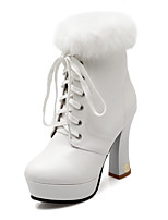 Women's Shoes  Heels / Platform / Fashion Boots Boots Outdoor / Office & Career / Casual Chunky Heel   &728