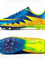 Zapatos Fútbol PVC Negro / Azul / Naranja Hombre / Para Niño