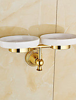 Soap Dish / Polished Brass / Wall Mounted /30*10*10 /Brass /Antique /30 10 0.351