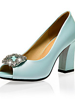 Women's Shoes Leatherette Spring / Summer / Fall Heels / Peep Toe Sandals Wedding / Party & Evening / Dress