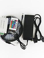 ZDM™ 5 M 120 5050 SMD RGB Waterproof 144W RGB Strip Lights EU/UK/US/AU Power Supply(AC100-240V)