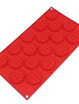 18 Cavity Mini Fancy Bundt Waffles Cake Pan Silicone Mold Baking Mould