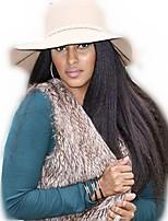 8a remy human hair 8-24inches natuurlijke kinky recht geheel of kant voor celebrity stijl pruiken voor vrouwen