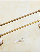 Towel Bar / Brushed / Wall Mounted /60*15*10 /Brass /Antique /60 15