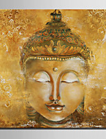Mini Size E-HOME Oil painting Modern Buddha Pure Hand Draw Frameless Decorative Painting