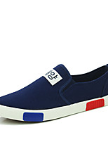 Men's Shoes Casual Canvas Fashion Sneakers Blue / Black /White