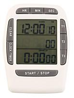 1Pc  Electronic Timer Countdown Lab Multifunction White
