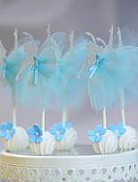 Blue Ballet Girle Pops (Set of 10)