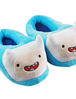 Adventure Time Finn Kigurumi Pajamas Warm Slippers With Collar 28cm