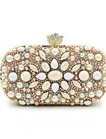 Women-Event/Party / Wedding-Velvet / Glitter / Chiffon-Evening Bag-Beige / 1#