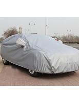 suministros de automoción borra de algodón capó del coche engrosamiento lluvia protección solar impermeable cubierta del coche de costura
