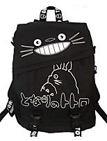Cartoon My Neighbor Totoro Canvas Backpack