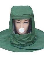 campana de arena a prueba de polvo máscara protectora detonador especial para la pintura de la pintura industrial de molienda casquillo de