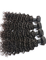 Brazilian Virgin Human Hair Extension Deep Wave 4pcs/lot no tangle and no shedding Best Selling Hair