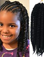 #1B Havanna Twist Braids Haarverlängerungen 12 Kanekalon 1 Strand 100g Gramm Haar Borten