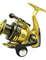 Molinetes Rotativos 5.5/1 13 Rolamentos Trocável Isco de Arremesso / Pesca Geral-XF5000 Yumoshi