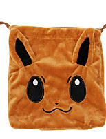 Tas Pocket Monster PIKA PIKA Anime Cosplay Accessoires Bruin Corduroy