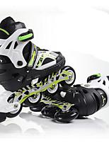 Zapatos Zapatillas de patinaje PU / Tul Negro / Azul Unisex