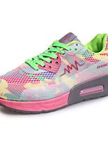 Da donna-Sneakers-Tempo libero / Casual / Sportivo-Comoda-Piatto-Finta pelle-Nero / Verde / Rosso