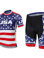KEIYUEM Radsport Kleidungs-Sets/Anzüge Unisex FahhradWasserdicht / Atmungsaktiv / Rasche Trocknung / Regendicht / Wasserdichter