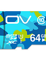 Ov 64 Gb Memory Card 16 Gb Tf Card Vehicle Traveling Data Recorder High-Speed Memory Card C10 Camouflage