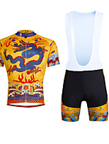 Cycyling PaladinSport Men Shirt + Straps Shorts Suit DBT634 Dragon Robe