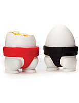 Sumo Eggs 2 Egg Cups Home Kitchen Funky Gift for Eggs