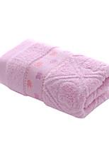 1pc plein 12 serviette de coton à la main
