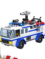 cogo bloc assemblé petit dragon blanc ville de police militaire pincha série jouets 13913 d'assemblage de puzzle