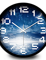 Creative Aesthetic Star Living Room Home Accessories Silent Quartz Wall Clock