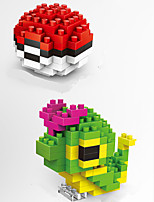 Wisehawk Brand Poke Ball And Caterpie ABS Super Mini 169 Pieces Diamond Blocks