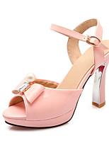 Women's Shoes Leather Spring / Summer  / Platform / Gladiator / Comfort / Novelty / Styles / Round Toe / Open Sandals