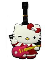 Soft cute cartoon luggage tag luggage tag cards