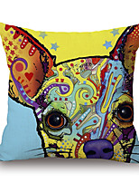 Cotton/Linen Pillow Cover,Novelty / Wildlife / Animal Print / Graphic Prints Modern/Contemporary / Casual
