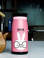 1Pc Creative Cartoon Pot-Bellied Cup Stainless Steel Vacuum Cup  (500 Ml) Random Color