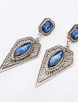 Fashion Square Hollow Triangle Earrings Jewels