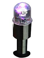 2 st intelligent dubbla känsla av lätta fordonsdäck färgglada lampor ventil nav lampor