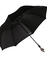 2016 o novo guarda-chuva dobra forma protetor solar com alça de metal crânio