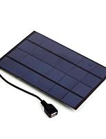 4w 5v выход USB монокристаллического кремния зарядное устройство солнечная панель для Iphone 6s Самсунга Huawei (sw4005u)