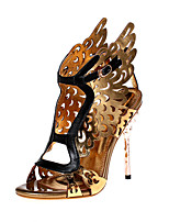 Women's Shoes Cowhide / Leather / Patent Leather Stiletto / Heels / Slingback / Motorcycle Boots / Gladiator / Comfort /