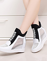 Women's Shoes Leather Spring / Summer / Fall Wedges / Round Toe Loafers & Slip-Ons Casual Wedge
