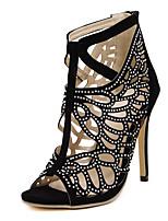 Women's Shoes  Stiletto Heel Heels / Peep Toe / Fashion Boots / Basic Pump / Comfort / Novelty / Pointed Toe