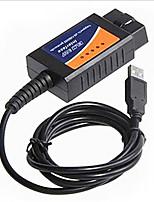 linee di colpa auto strumento di diagnosi elm327 obd2 di guida del cavo USB del computer