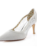 Women's Shoes Lace / Stretch Satin Spring / Summer / Fall Heels / Party & Evening / Dress Stiletto Heel Others