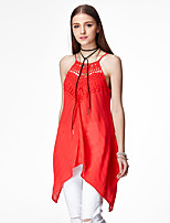 Heart Soul® Women's Strap Sleeveless Asymmetrical Dress-11AA27315