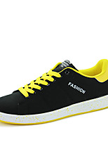 Men's Shoes Casual Canvas Fashion Sneakers Blue / Yellow / Red