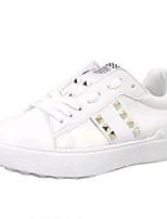 Da donna-Sneakers-Tempo libero / Sportivo / Casual-Creepers-Plateau-Finta pelle-Nero / Verde / Bianco